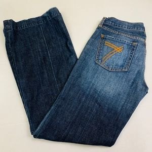 7 For All Mankind Dojo Denim Jeans Wide leg